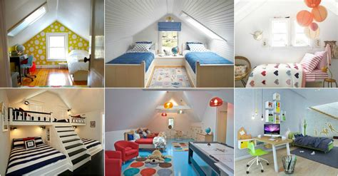 attic kids bedroom ideas   catch  eye