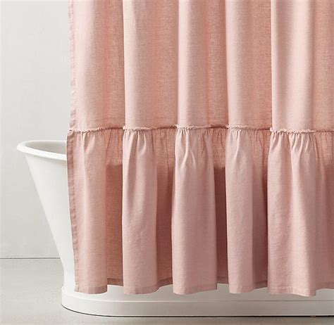 ruffle shower curtain pink curtain menzilperde net
