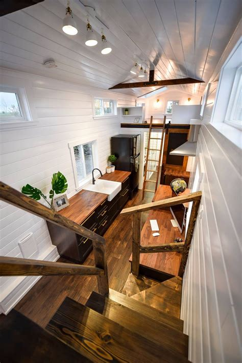 custom  loft edition  mint tiny homes tiny house loft tiny house living  tiny house