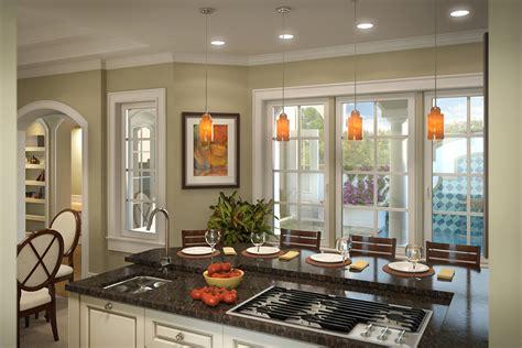 kitchen courtyard designs energy saving courtyard house plan 33047zr 1st floor 1029