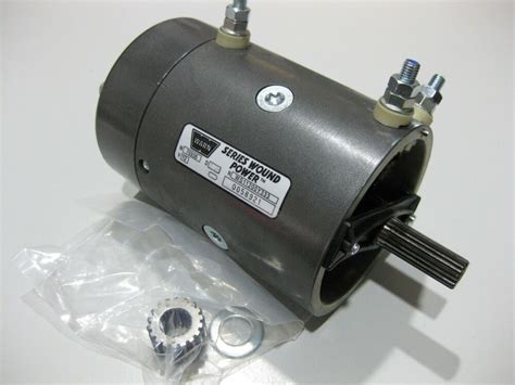 Electric Winch Motors by Genuine Warn 7536 New Replacement 12 Volt Electric Winch