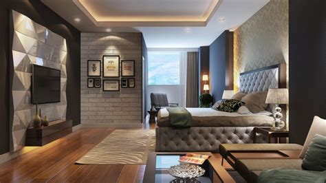 Contemporary Style : Bedroom In The Modern Style