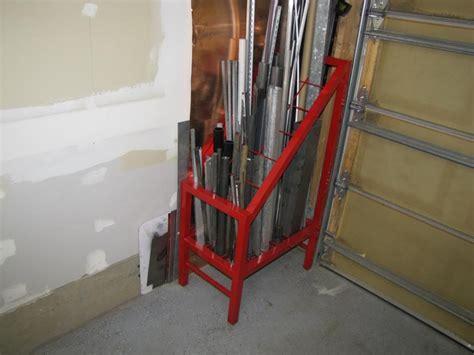 tube storage page  ofn forums welding table metal storage racks steel storage rack