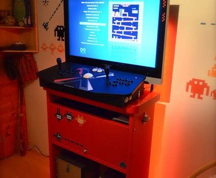 mammut retro arcade cabinet ikea hackers ikea hackers
