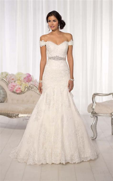 Permalink to Off The Shoulder Wedding Dress