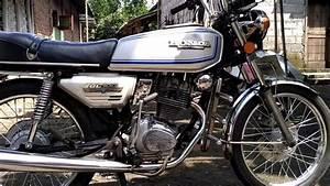 Honda Gl 100 1979 Platina Silver Original