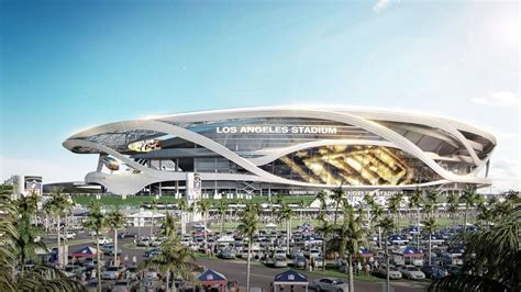 los angeles stadium  manica architecture