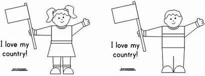 Country Learning Printable Usa Boy Fun Printables