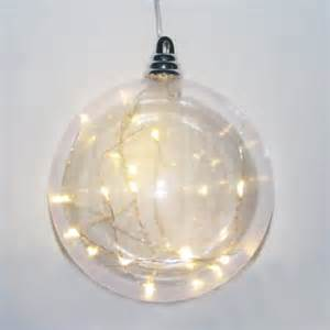 battery operated clear shatterproof with led lights ball christmas ornament 5 90 quot walmart com