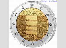 Buy 2 euro coin Andorra 2017 100 years of the anthem of