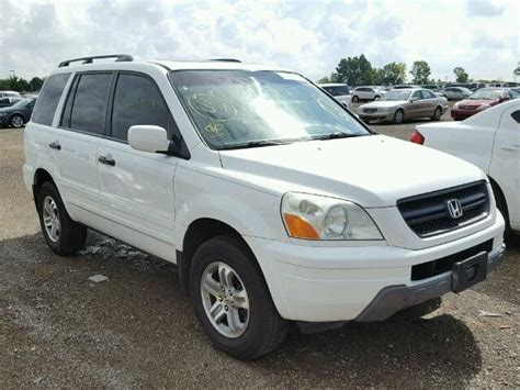 books on how cars work 2005 honda pilot lane departure warning auto auction ended on vin 5fnyf18605b046503 2005 honda pilot exl in il chicago north