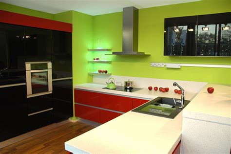 green black and white kitchen 36 stylish small modern kitchens ideas for cabinets 6932