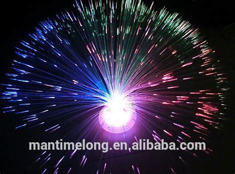 fiber optic led string light led fiber optic flower light
