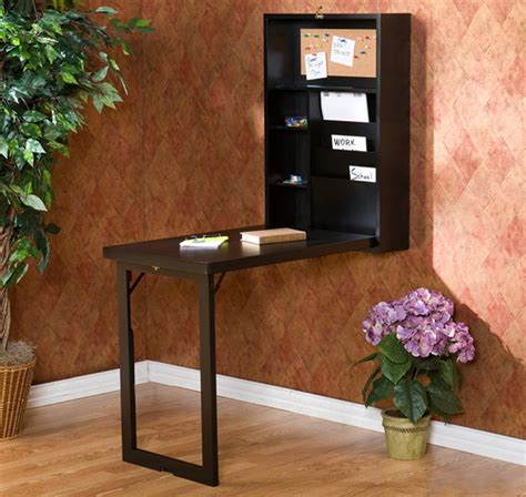 wall mounted fold desk contemporary desks and hutches by the sharper image