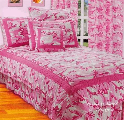 Pink Camouflage Bedding by Pink Camo 3pc Comforter Set