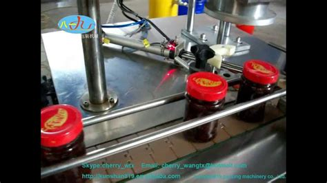 chilli sauce filling machine youtube