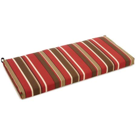 blazing needles    patio bench cushion walmartcom