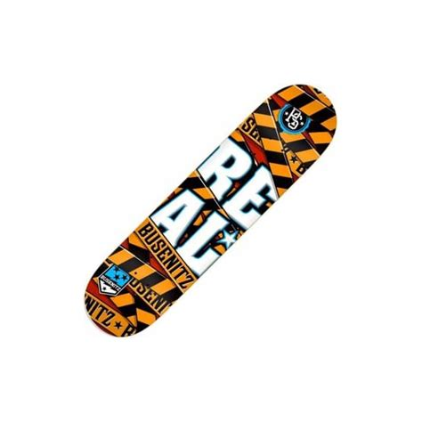Real Skateboard Decks 80 real skateboards real busenitz warning skateboard deck 8 0