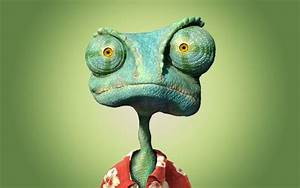 Chameleon Rango from the movie wallpapers and images ...