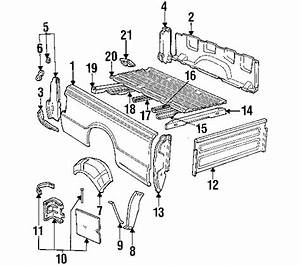 29 Ford Ranger Body Parts Diagram