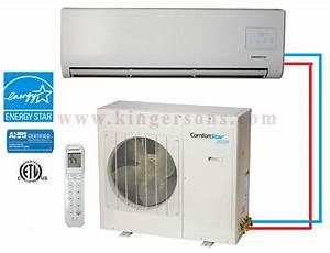 Comfortstar Chp018cd2b 18000 Btu Single Zone Heat And Cool