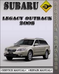 2008 Subaru Legacy Outback Factory Service Repair Manual