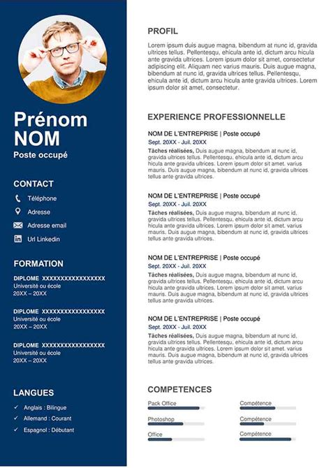 Modele Cv Commercial Word by Exemple De Cv Commercial Gratuit 224 T 233 L 233 Charger Mod 232 Le Cv
