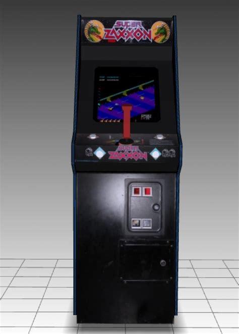 Super Zaxxon Upright Arcade Machine Free 3d Models