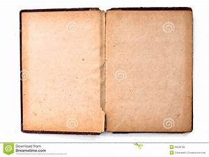 Blank Page Of Old Book Stock Photography - Image: 23226792