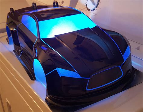 Tron inspired body, can't wait to do the lights .#RC # ...