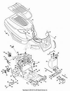 Troy Bilt 13yx79kt011 Horse Xp  2015  Parts Diagram For Hood