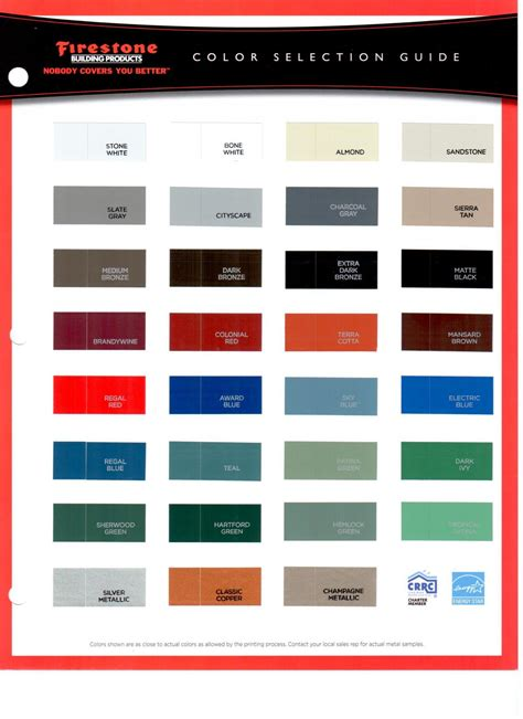 sheet metal color chart h h sheet metal color charts