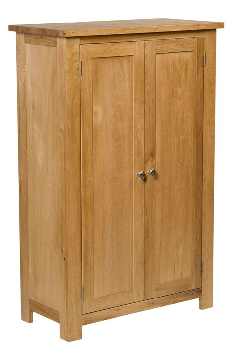 Small Wooden Cupboards by Waverly Oak Small Wide Cabinet Cupboard With 3 Shelves