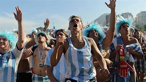 argentina fans invade brazil   chant news al