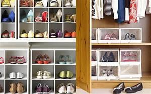 Rangement Chaussures Dans Placard : 8 trucs pour que votre garde robe n ait pas l air d un ~ Teatrodelosmanantiales.com Idées de Décoration
