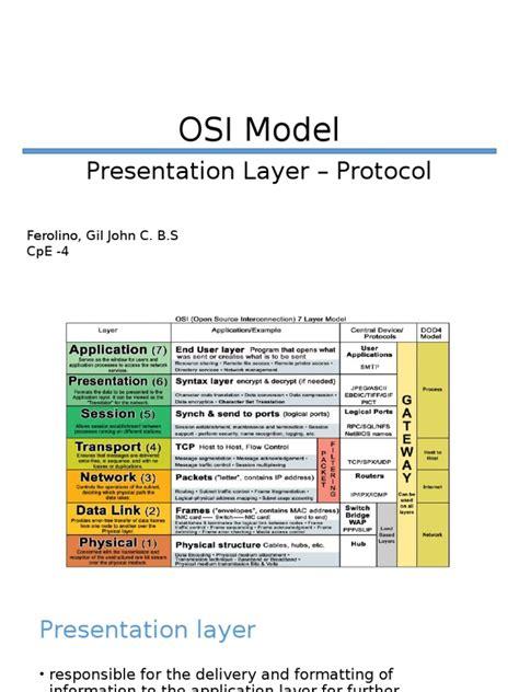 layer protocols osi model communications