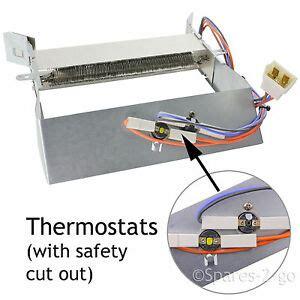 indesit idc75 tumble dryer heater heating element safety thermostat genuine ebay