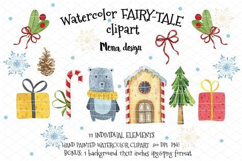 Watercolor Fairy-tale Clipart