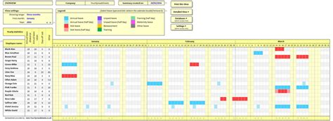 time and attendance tracking template employee attendance tracker spreadsheet