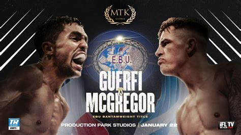 Lee McGregor lands January European title shot – British ...