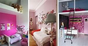 une chambre rose pour les filles cote maison With une belle chambre de fille