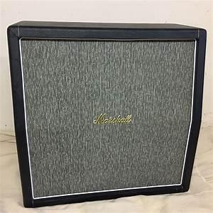 Marshall 1968 Pinstripe 4x12 Angled Cabinet Model  1960