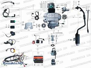 110cc 4 Wheeler Wiring Diagram Loncin Atv Basic Setup Kazuma Redcat New Quad Block Engine Socket