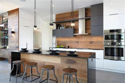idee deco cuisine vintage armoires de cuisine moderne lustrés en acrylux
