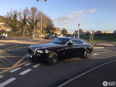 Rolls Royce Wraith Black Badge 11 January 2017 Autogespot