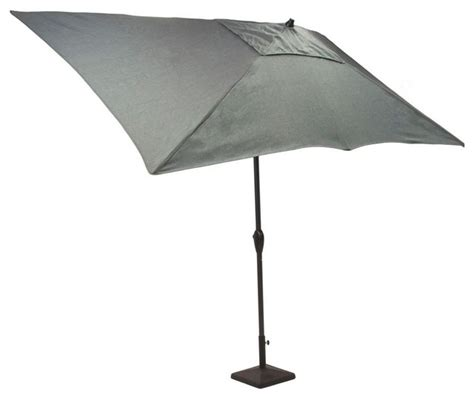 Hton Bay Patio Umbrella by 6 Ft Patio Umbrella 8 X 6 Ft Aluminum Patio Umbrella