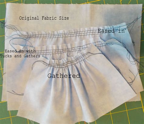 ease term  definition  sewing examples