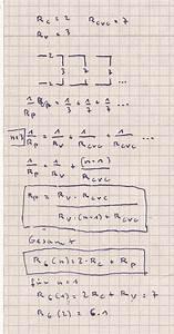 Einheiten Berechnen : widerstand gesamtwiderstand zwischen den punkten a und b der anordnung mit n einheiten ~ Themetempest.com Abrechnung
