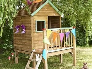 Maison De Jardin En Bois Enfant : les meilleures cabanes en bois pour 2019 cabane ~ Dode.kayakingforconservation.com Idées de Décoration
