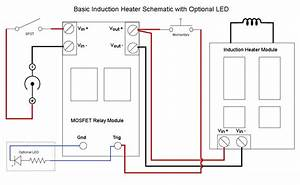 Basic Induction Heater Schematic  With Optional  U2026